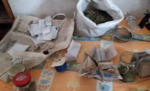 Поліцейські знайшли у жителя Лебедина півкіло марихуани