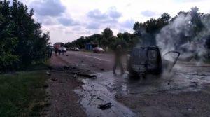З'явилося відео з місця ДТП на трасі Суми-Лебедин