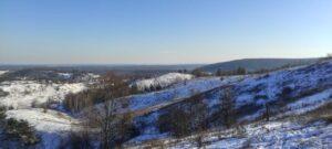 Сьогодні на Сумщині температура опускалась до -29°С