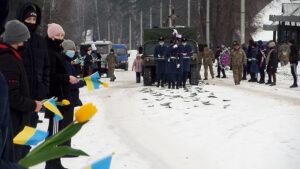 У Лебедині попрощалися з військовим Михайлом Капраном (відео)