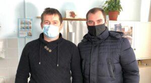 Перший пішов: Сумський лікар отримав щеплення від COVID-19