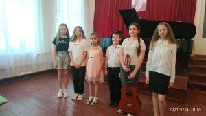 У Лебединській дитячій школі мистецтв знову звучала музика