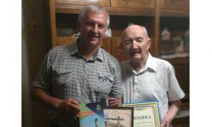 Уродженець Лебедина Володимир Курило відзначив 100-річчя