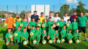 У Лебедині відкрили новий футбольний майданчик зі штучним покриттям (відео)